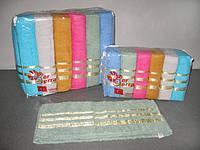 Набор махровых полотенец Ber Berra Cotton Simli 70x140 6 шт