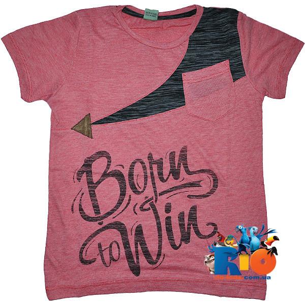 """Летняя футболка """"Winner"""" , из трикотажа , для мальчиков 5-6;7-8;9-10;11-12 лет"""