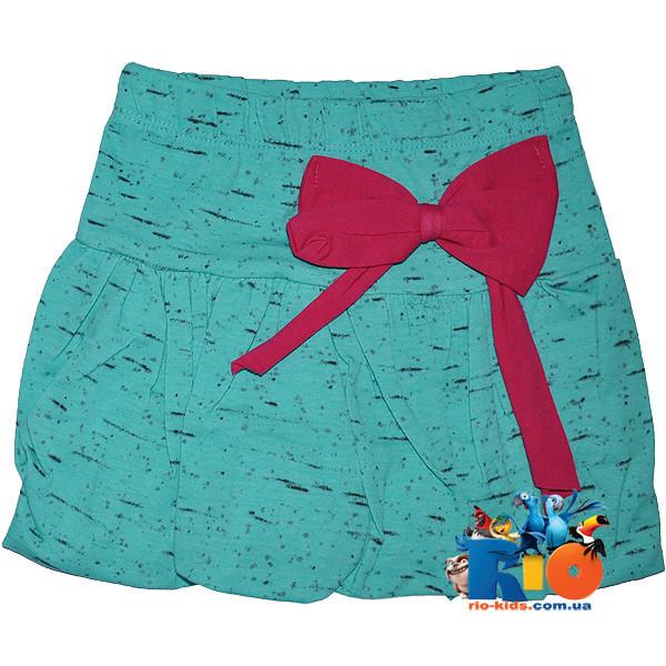"""Летняя юбка  """"Штрих"""" , трикотаж , для девочек 1-2;3-4;5-6;6-7;7-8 лет"""