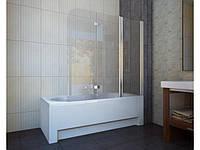 Шторка для ванны KollerPool Waterfall Line QP96 L / R,стекло grape