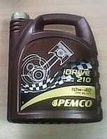 Универсальное полусинтетическое моторное масло Pemco iDRIVE 210 SAE 10W-40 4L