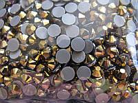 Термо-стразы ss20 Gold, 100шт, (4,6-4,8мм)