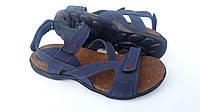 Мужские кожаные сандали Step Way blue, фото 1