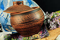 Горшочек-глечик из красной глины