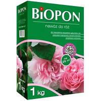 Удобрение в гранулах BIOPON для роз, 1 кг