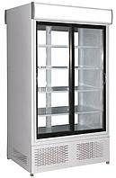 Шафа демонстраційна холодильна АРКАНЗАС (наскрізна) ШХСД(Д)-0,8 (Україна), фото 1