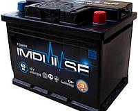 Аккумулятор Power Impulse 6СТ-60Ah/510A (+/-)  (з-д Мегатекс)