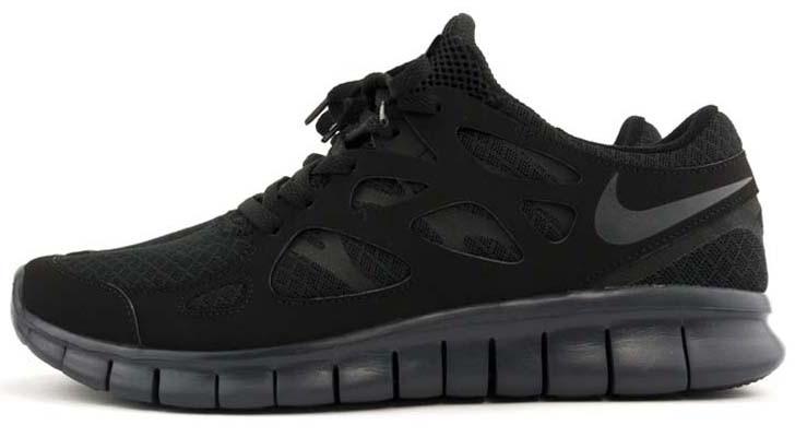 91422958 Мужские кроссовки Nike Free Run 2.0 Black - Интернет-магазин обуви и одежды  в Киеве