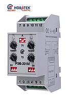 Реле времени РЭВ-201М, электронное двухканальное РЭВ-201 Новатек-Электро