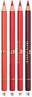 Контурный карандаш для губ с витамином Е - Relouis  №18