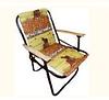 Кресло раскладное рыбалка туристический 51х56см, дер. подлок., текст. поверх.