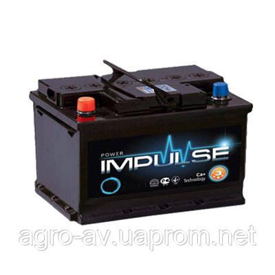 Аккумулятор 6СТ-100Ah/850A (-/+) Power Impulse (з-д Мегатекс)