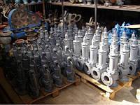 Задвижки стальные литые клиновые фланцевые жаростойкие електропривод 30лс976нж PN 4,0 МПа Ру 40