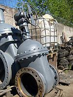 Задвижки стальные литые клиновые фланцевые с не выдвижным шпинделем  под електроприв 30с927нж PN 2,5 МПа Ру 25