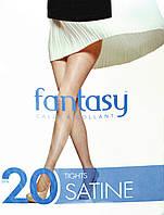 Колготки женские Fantasy Satine 20 Den 2,3,4,5 (черный, бронза, телесный, шейди)