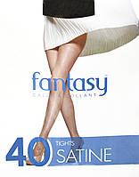 Колготки женские Fantasy Satine 40 Den 2,3,4,5,6  (черный, бронза, телесный, шейди)