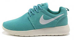 Женские кроссовки Nike Roshe Run Cyan, найк роше ран