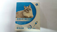 Эффектвет (фентион 60 мг) 0,5 мл №5 капли от блох и клещей для кошек.