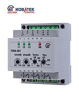 Переключатель фаз автоматический электронный  ПЭФ-301 Новатек-Электро