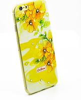 Чехол накладка силиконовый Diamond для Lenovo A536 A358 Cath Kidston Light of Spring