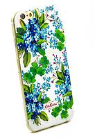 Чехол накладка силиконовый Diamond для Lenovo A536 A358 Cath Kidston Romantic Blue