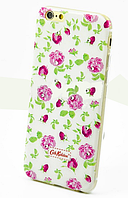 Чехол накладка силиконовый Diamond для Lenovo A536 A358 Cath Kidston Wedding Flowers