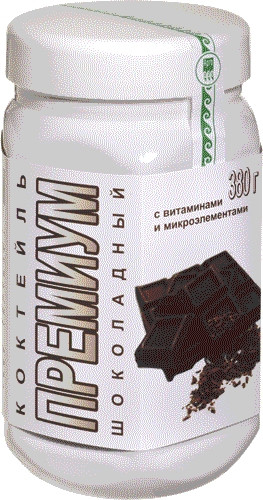 Коктейль ПРЕМИУМ Шоколадный