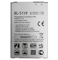 Аккуммулятор, батарея LG BL-51YF (G4 Dual-LTE) 3.85V 3000mAh 11.6Wh