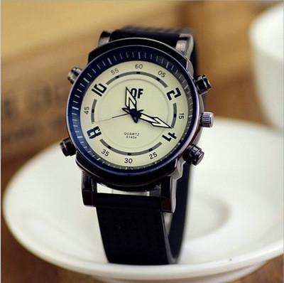 Часы наручные QF Submarine black-white