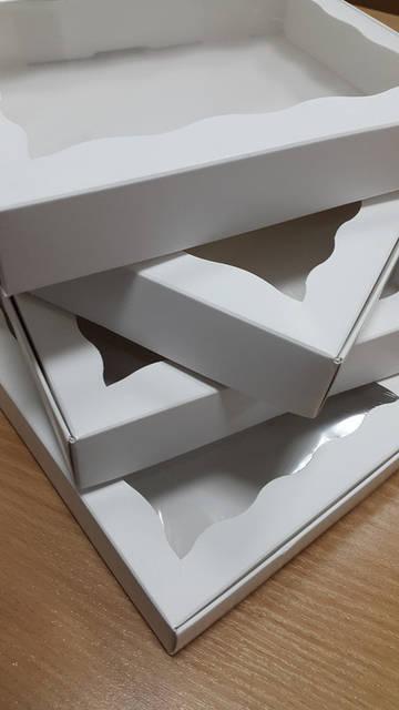 Картонный коробки для кондитерских изделий