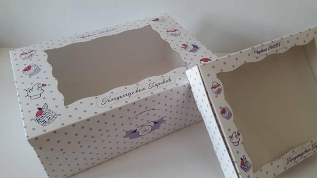 Картонный коробки для кондитерских изделий 4