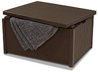 Стол-сундук Arica, коричневый