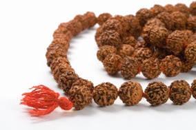 Рудракши мала, ожерелье из семени рудракши