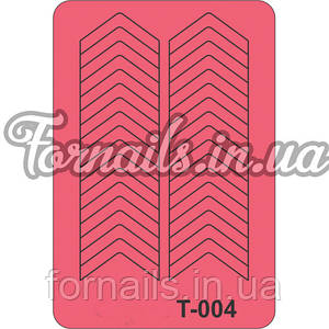 Трафарет Т-004
