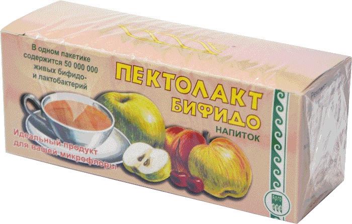 Пектолакт Бифидо - сухая смесь для приготовления напитка, улучшающего микрофлору кишечника