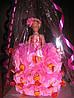 Куклы Барби в конфетном платье.