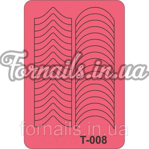 Трафарет Т-008