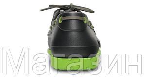 Мужские кроксы Crocs черные, фото 3
