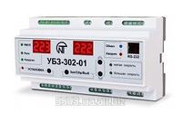 Блок защиты двухскоростных асинхронных электродвигателей (лифтовой) УБЗ-302-01 Новатек Электро