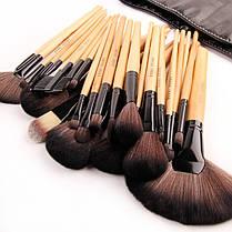 Кисти набор кистей для профессионального макияжа Bobbi Brown 24 штуки в чехле реплика, фото 3