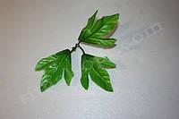 Искусственный лист георгин №8