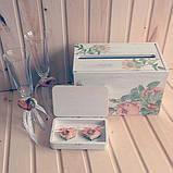 Весільна скарбниця (Коробка. Короб-пенал) для грошей і побажань №1 заготівля для декупажу та декору, фото 8
