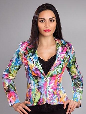 Модный  женский пиджак Мадлен