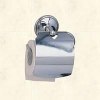 Держатель туалетной бумаги сширокой крышкой