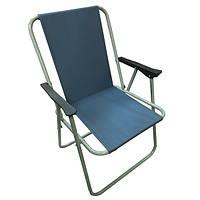 Кресло кемпинговое складное: полиэстер, 5 цветов, 53х44х75 см