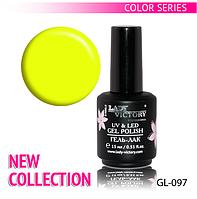 УФ гель-лак для ногтей NEW COLLECTION Lady Victory 15 мл. LDV GL-097/23-2