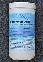 Таблетки для бассейна комбинированные по 200 гр Multifresh (Мультитаб, Multitab), 1 кг