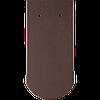 Натуральная черепица Опал ангоба коричневый, антрацит Braas