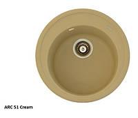 Мойка для кухни Fabiano Arc 51 Cream