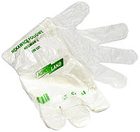 Перчатки полиэтиленовые на планшетке (100шт./уп., 100 уп./ящ.)